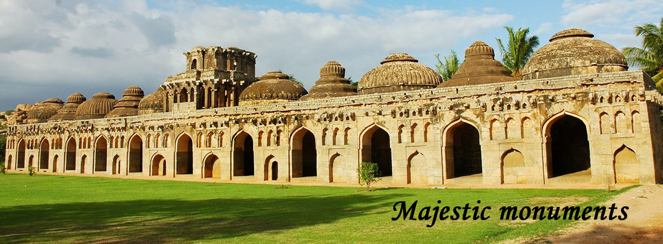 majestic monuments in india